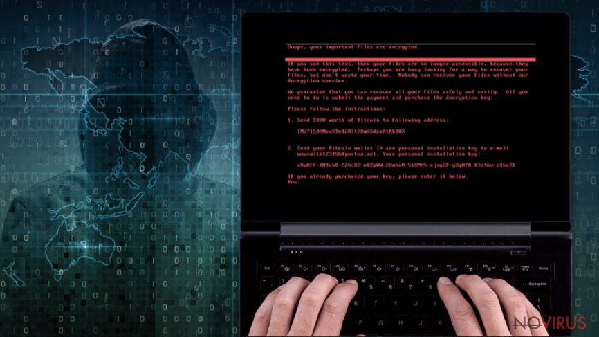 The mysterious virus under the name 'NotPetya' plagues the virtual community
