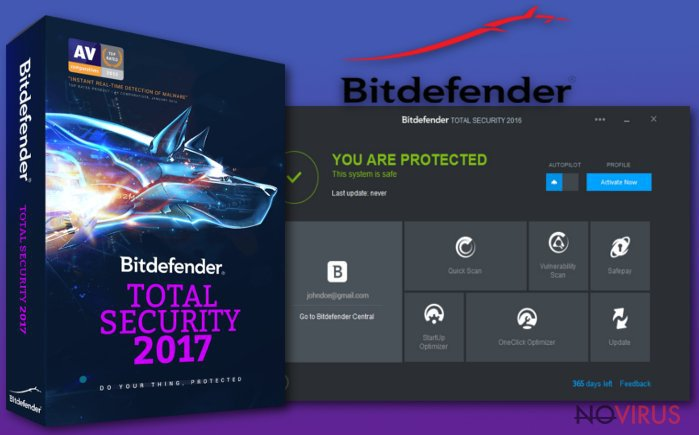 The picture of Bitdefender Total Security 2017