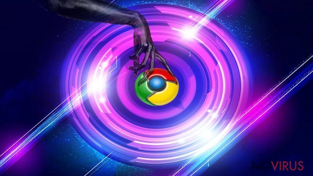 Once again Chrome becomes a tool of the hijack