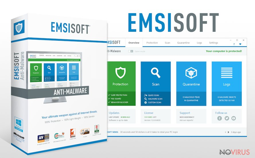 The picture of Emsisoft Anti-Malware