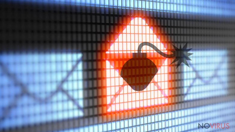 Ransomware might be delivered straigt to your spam inbox