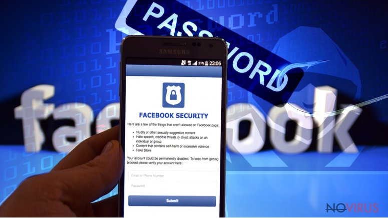 Hackers attack Facebook users
