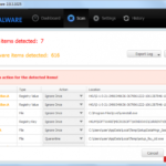 Malwarebytes Anti Malware screenshot