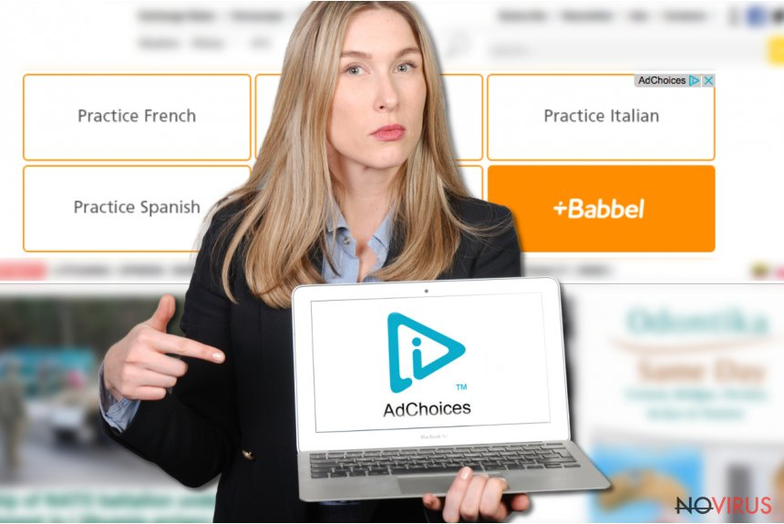AdChoices screenshot