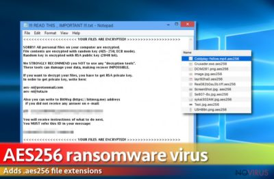 Aes256 ransomware virus