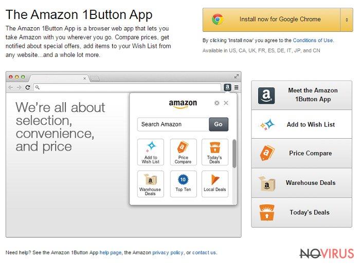 Amazon 1Button App screenshot