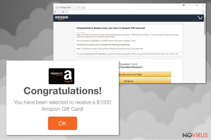 Amazon virus screenshot