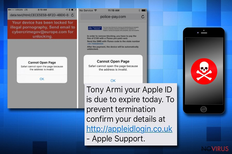 Apple tech support scam campaign