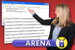 Arena ransomware