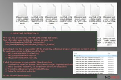 Asasin ransomware is the new Locky variant