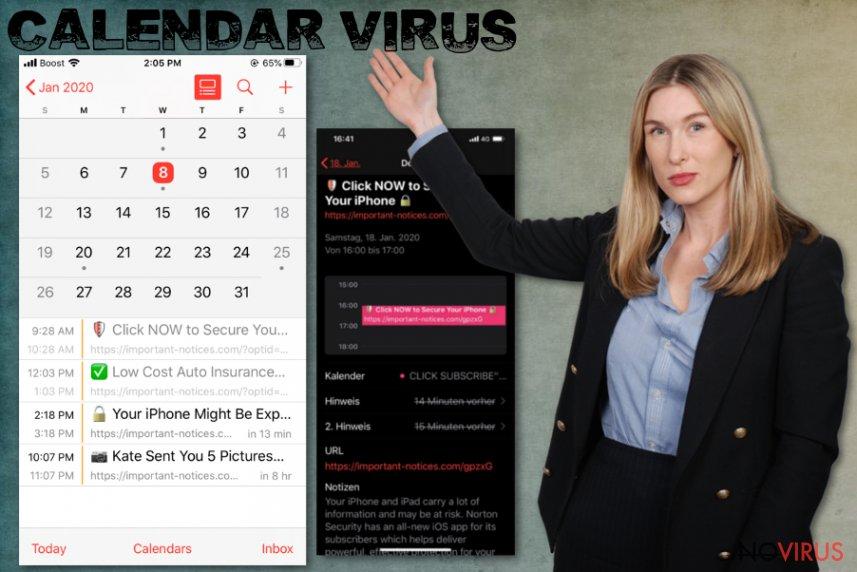 Calendar virus infection