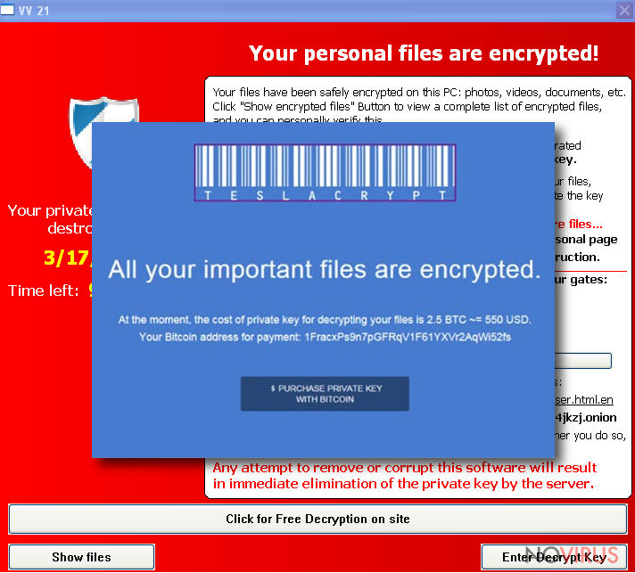 The note of .ccc File Extension ransomware