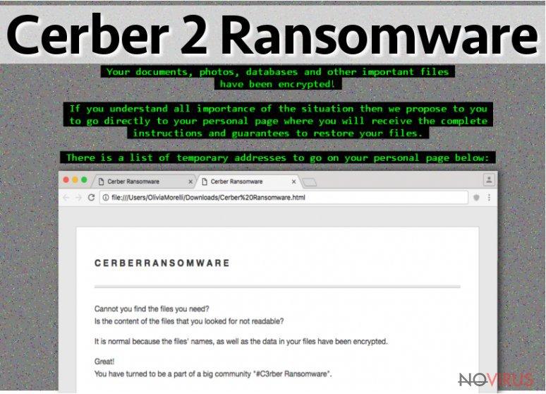 Cerber 2.0 virus