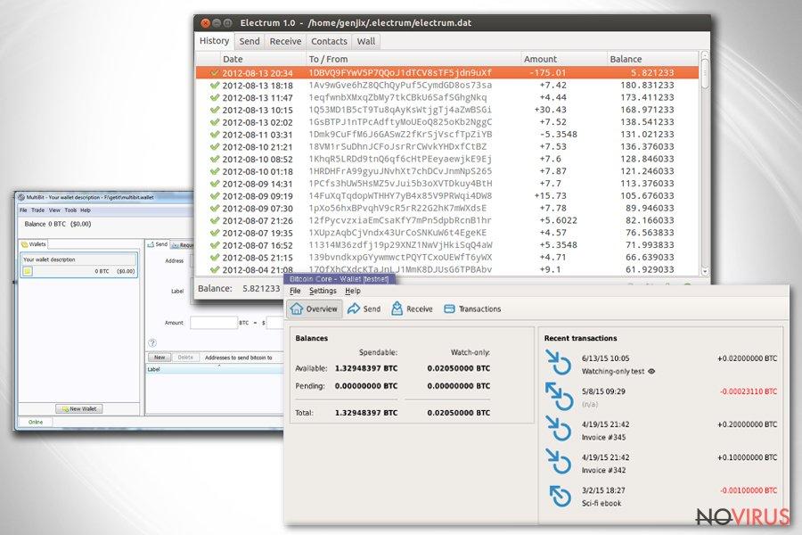 Cerber virus screenshot