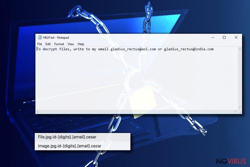 Uninstall Cezar virus (Virus Removal Instructions) - Aug 2017 updated