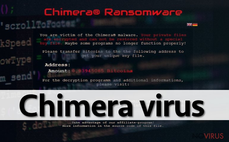 Chimera ransom note
