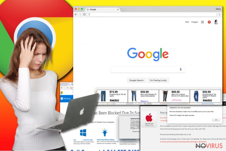 Chrome adware virus infects Mac and Windows