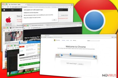 Chrome adware serves various type of annoying ads