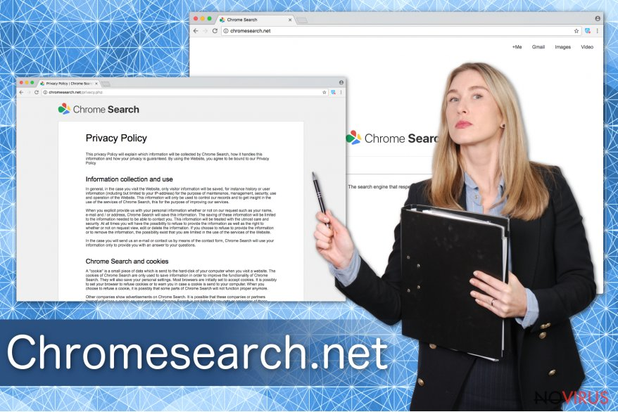 Chromesearch.net virus example