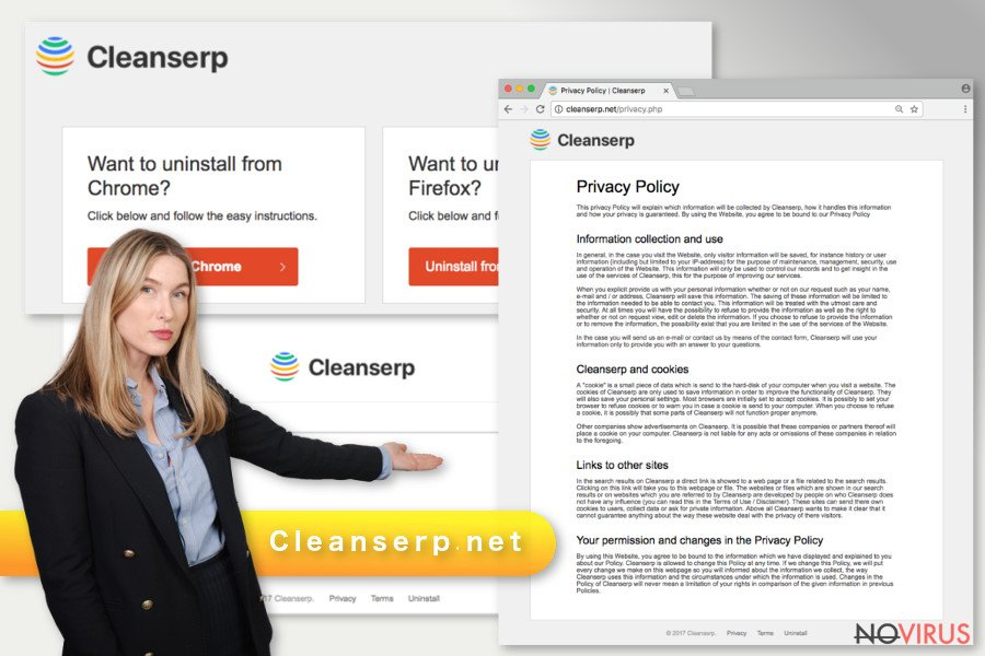 Cleanserp.net browser hijacker