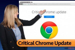 Critical Chrome Update pop-ups