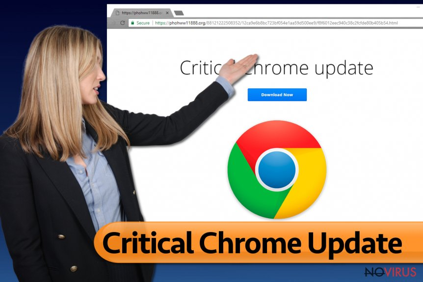 Critical Chrome Update pop-ups