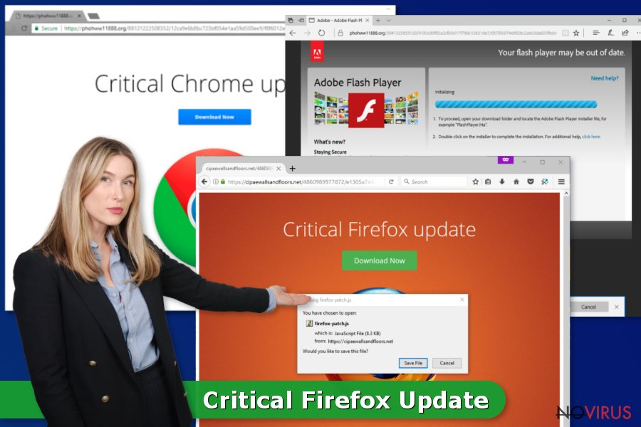Critical Firefox Update pop-ups