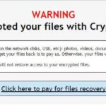 Crypt0L0cker virus screenshot