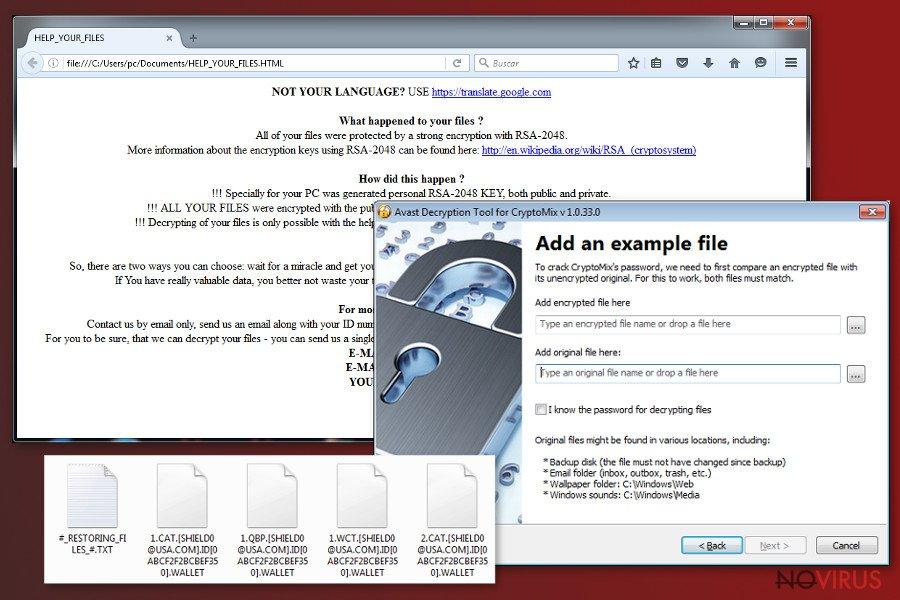 CryptoMix ransomware virus