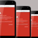 """Deceptive site ahead"" warning screenshot"