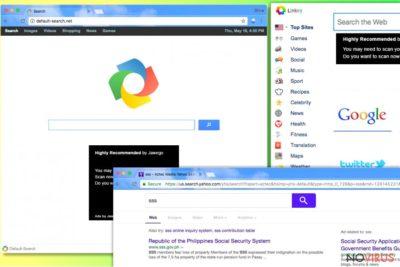 Default-search.net hijack