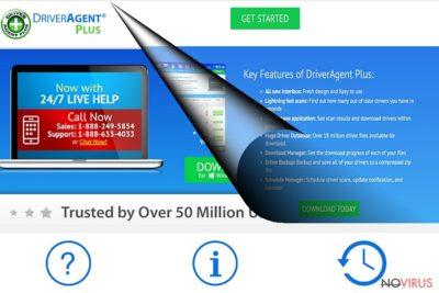 DriverAgent Plus official website