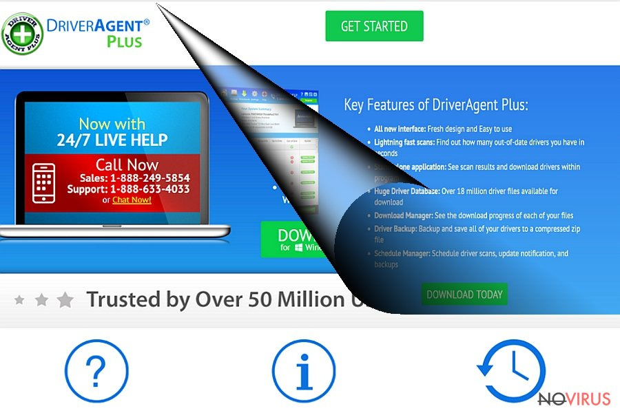 DriverAgent Plus official website