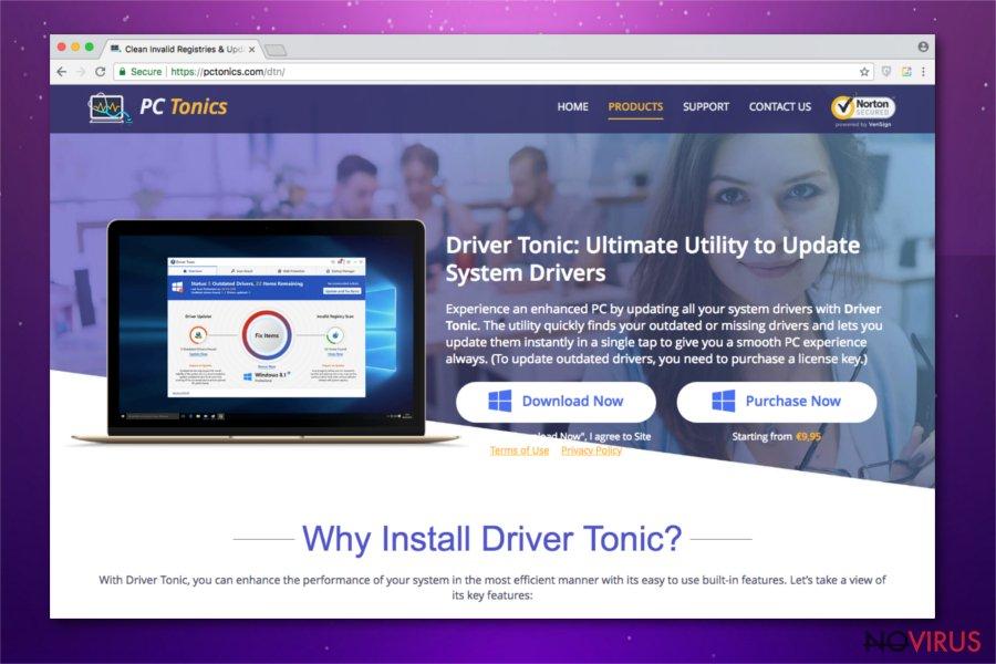 Driver Tonic PUP