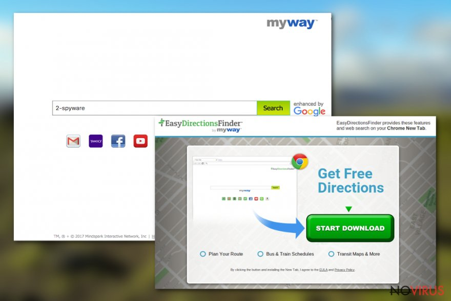 EasyDirectionsFinder Toolbar