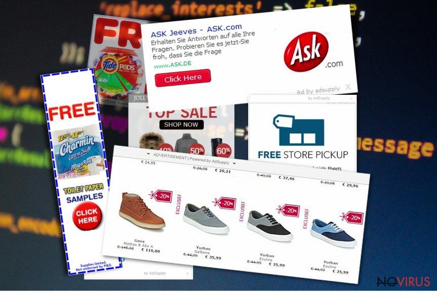 Ads by Adsupply screenshot