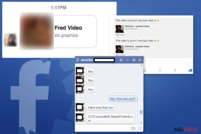 Samples of Facebook Message malware