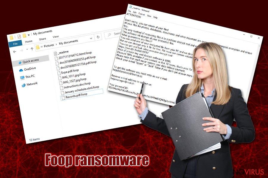 Foop ransomware virus