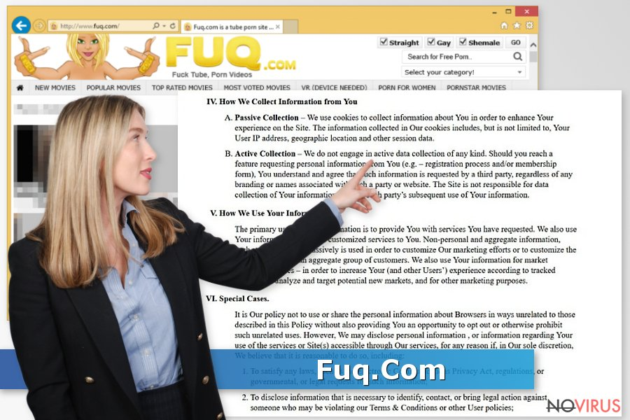 Fuq.Com adware screenshot