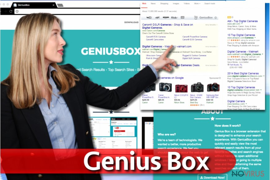 Genius Box ads