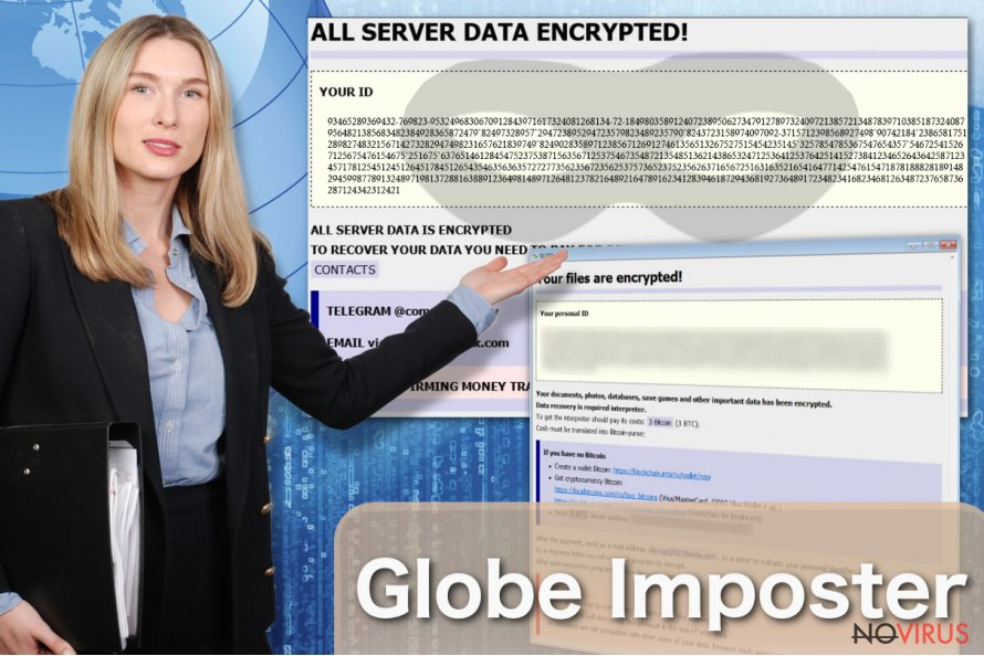 Globe Imposter virus is a copy of well-known Globe ransomware