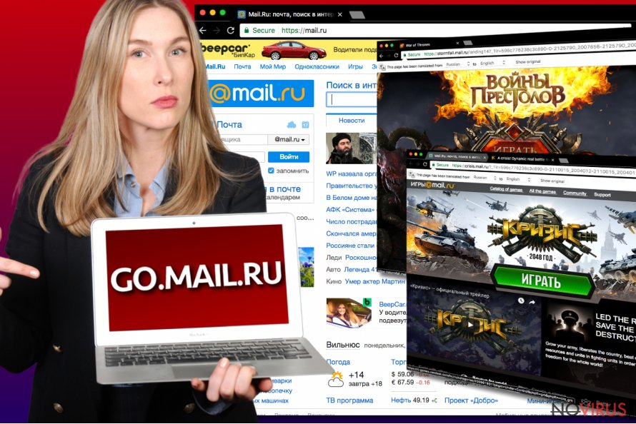 Go.mail.ru virus image