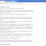 Google redirect screenshot