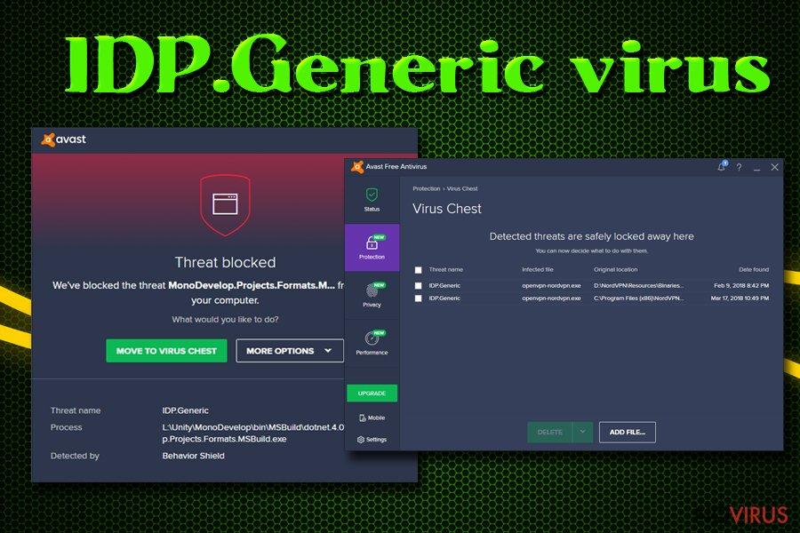 IDP.Generic virus