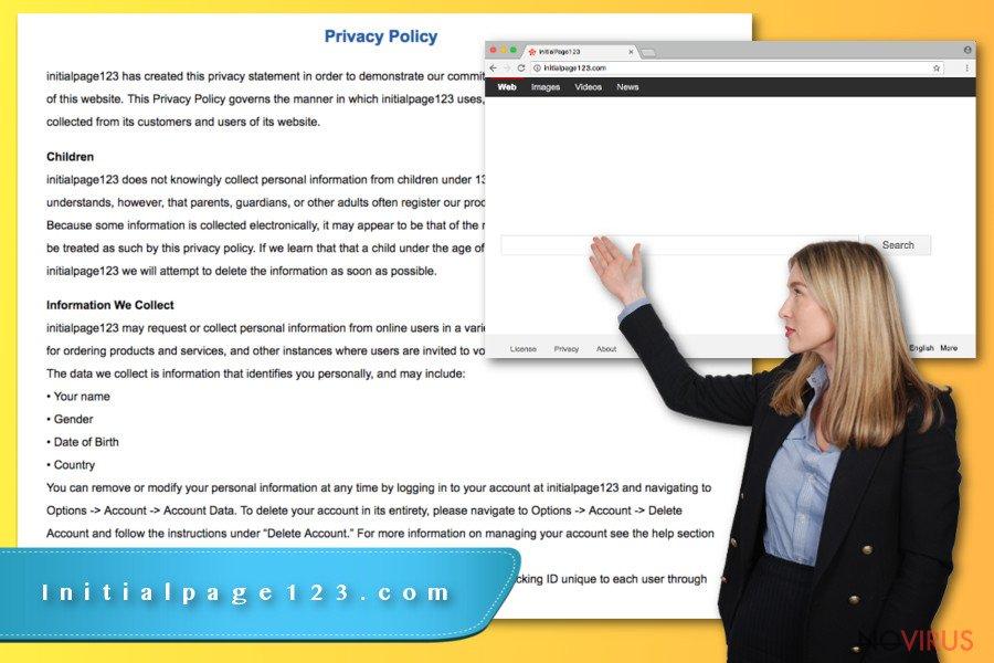Initialpage123.com virus