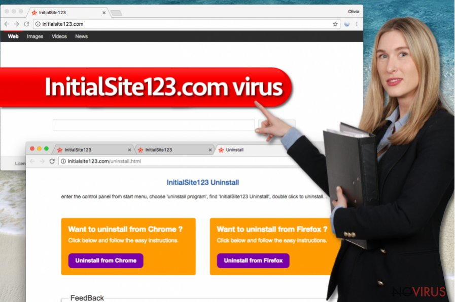 InitialSite123.com redirect virus