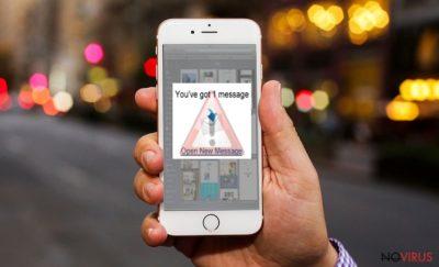 iPhone virus warning