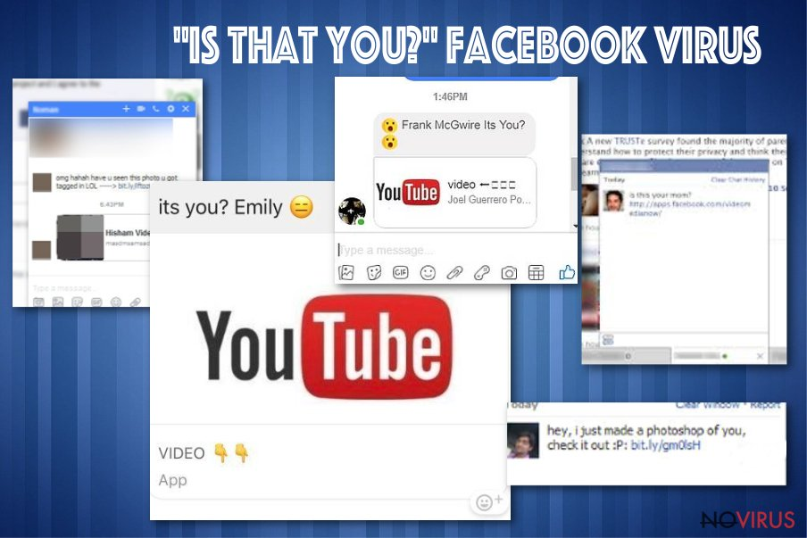 """""""Is that you"""" Facebook virus"""