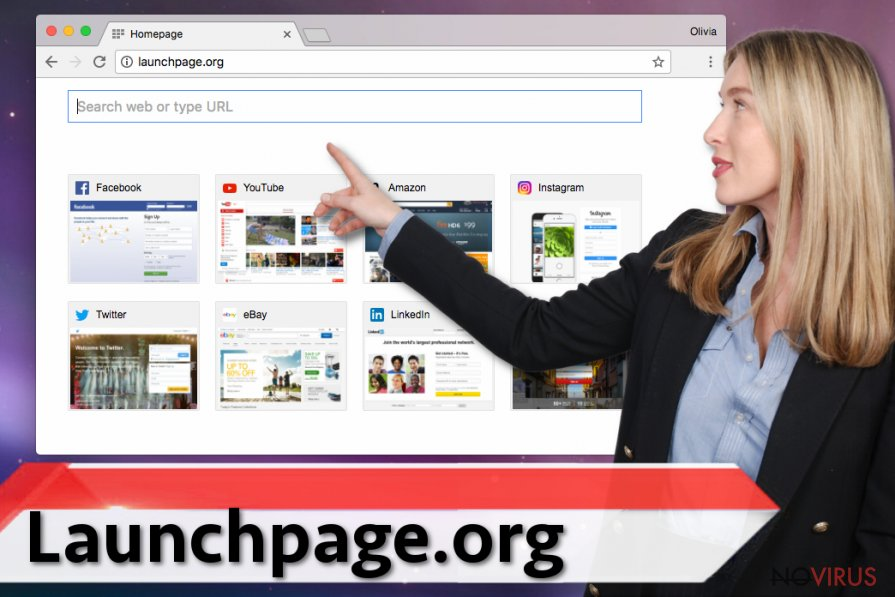 The image of Launchpage.org