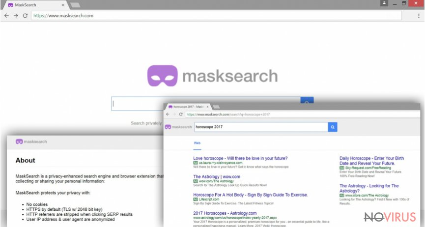 MaskSearch.com virus